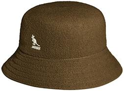 Kangol Men's Wool Lahinch Bucket Hat, camo, S