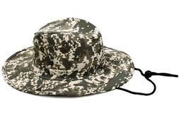 Men Women Boonie Bucket Cap Outdoor Hunting Fishing Safari S