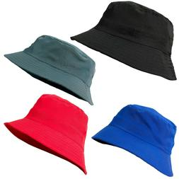 Men Women Bucket Boonie Hat Festival Fishing Summer Fisher O