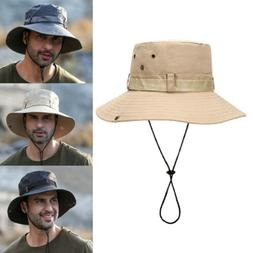 Men Women Bucket Hat Fishing Camping Fisherman Cap Boonie Br