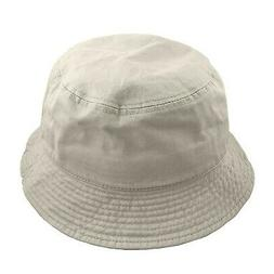 Falari Men Women Unisex Cotton Bucket Hat Putty Large/X-Larg