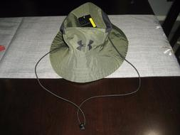 MENS UNDER ARMOUR ARMY CAMO SWITCHBACK Bucket Hat WITH TIES
