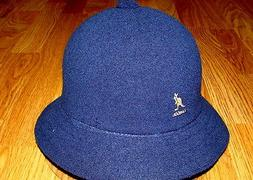 Mens Classic Kangol Bermuda Casual Bucket Cap Color  Navy Bl