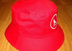 Mens Classic Kangol Cotton Bucket Hat Color  Rojo