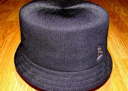 Mens Classic Kangol Tropic Bin Bucket Hat Color  Black