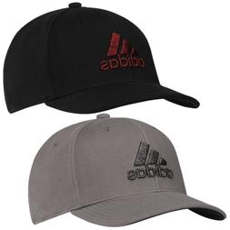 Adidas Golf Mens Heather Logo 6-Panel Curved Peak Bucket Cap