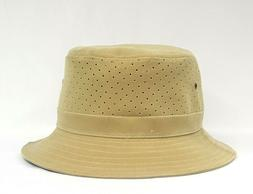 Mens Dorfman Pacific Natural Soaker Bucket Hat Sie S/M  MC35