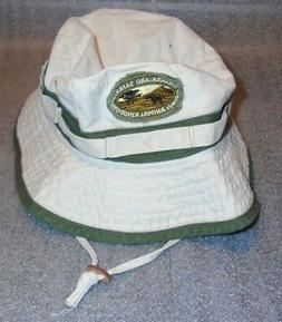 mens off white twill bucket hat kilimanjaro