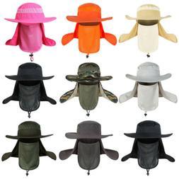 Men's Sun Protection Hat Waterproof Breathable Wide Brim B