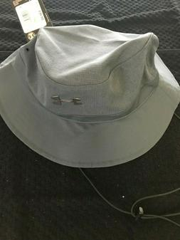 Under Armour Mens Warrior Vented Bucket Hat-Gray NEW