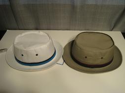 Mens Dorfman Pacific Water Repellent Poplin Bucket Hat size