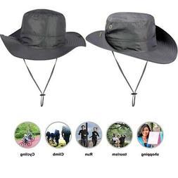 Mens Waterproof Sun Hat Summer Outdoor Sun Protection Bucket