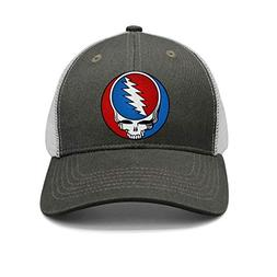 HJHJFT Mens/Woman Adjustable Trucker Hat Grateful-Style-Dead
