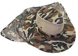 Eforstore Mesh Military Camouflage Bucket Hat with Anti-Mosq