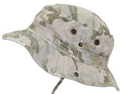 ac341a62326 Mega Cap MG Camouflage Ripstop Floppy Bucket Summer Hat W Sn