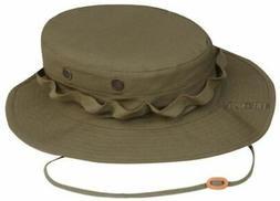 Tru-Spec Military Boonie, TRU OD Green WITH LOOPS, 7-3/4