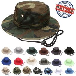 Military Hunting Fishing Camping Boonie Outdoor Bucket Hat w