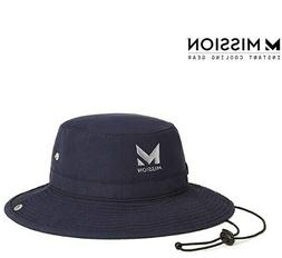 "MISSION Cooling Bucket Hat- UPF 50, 3"" Wide Brim, Cools"