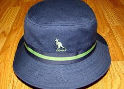 Navy  KANGOL  Stripe LaHinch  Bucket Hat  Style  K4012SP