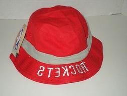 NBA Houston Rockets Adidas Red Bucket Hat Size LXL Authentic