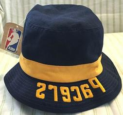 NBA Indiana Pacers Adidas Men's Blue/Yellow Bucket Hat Siz