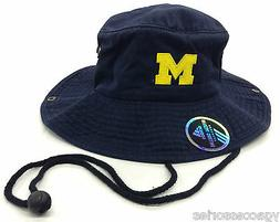 NCAA Michigan Wolverines Adidas Mens Safari Bucket Fishing C