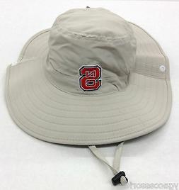 NCAA North Carolina State Adidas Mens Safari Bucket Drawstri