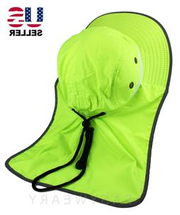 neck flap boonie high visibility safety reflective