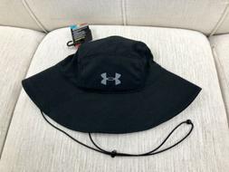 NEW UNDER ARMOUR Armourvent Warrior 2.0 Bucket Hat Black 130