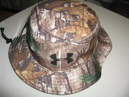 NEW UNDER ARMOUR BUCKET HAT REALTREE XTRA CAMO   STYLE #1276