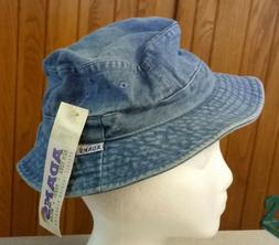 New Child's Blue Jean Bucket Hat Adams Upscale Fashion New Y