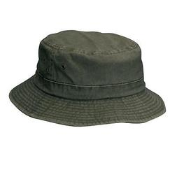 New Dorfman Pacific Cotton Big and Tall Summer Bucket Hat 2X