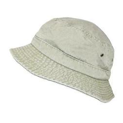 New Dorfman Pacific Cotton Packable Summer Travel Bucket Hat