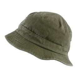 New Dorfman Pacific Cotton Packable Summer Travel Bucket Hat