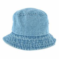 New E-Flag Men's Denim Bucket Hat