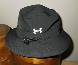 new heatgear black bucket hat uab999 osfm