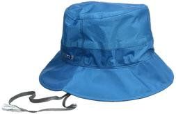 New Outdoor Research Helium Hydro Rain Bucket Hat, Blue Larg