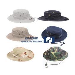 New Men Boonie Bucket Hat Cap Wide Hunting Fishing Outdoor C