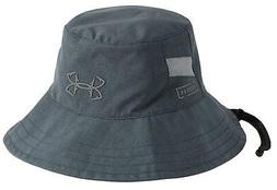 NEW! Under Armour Men's Fish Hook Armour Vent Bucket Hat-Gre