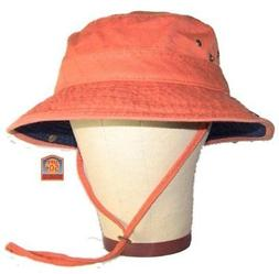 New Dorfman Pacific Men's UPF 50 bucket Hat with Contrast Br