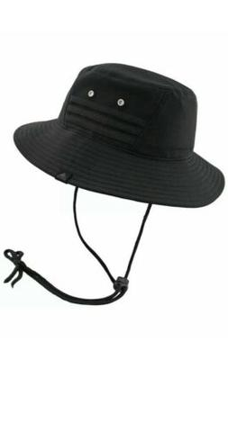 NEW adidas Men's Victory II Bucket Hat Black on Black One Si