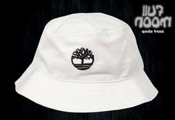 New Timberland Mens White Cap Breathable Bucket Hat