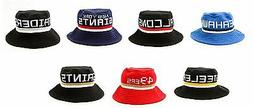 New NFL Mitchell and Ness Knit Bucket Cap Hat