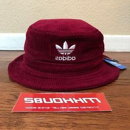 0241ea14 New Adidas Original Wide Wale Corduroy Bucket Hat Crusher Bu