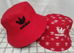 Adidas Bucket Hat Reversible Cap Red