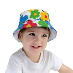 Newborn Baby Girls Boy Summer Bucket Beach Outdoor Sun Hat T
