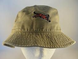 NFL Cincinnati Bengals Vintage Bucket Hat Size L/XL Khaki