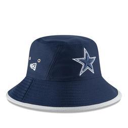 NFL NEW ERA DALLAS COWBOYS  MEN'S HEX TEAM BUCKET NAVY HAT O