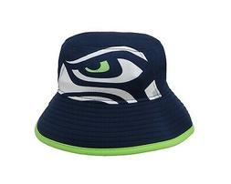 NEW ERA NFL Seattle Seahawks Bucket Hat Navy Blue Green Adul