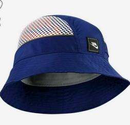 Nike NSW Sportswear Bucket Hat Mesh Cap Royal Blue BV3363-47